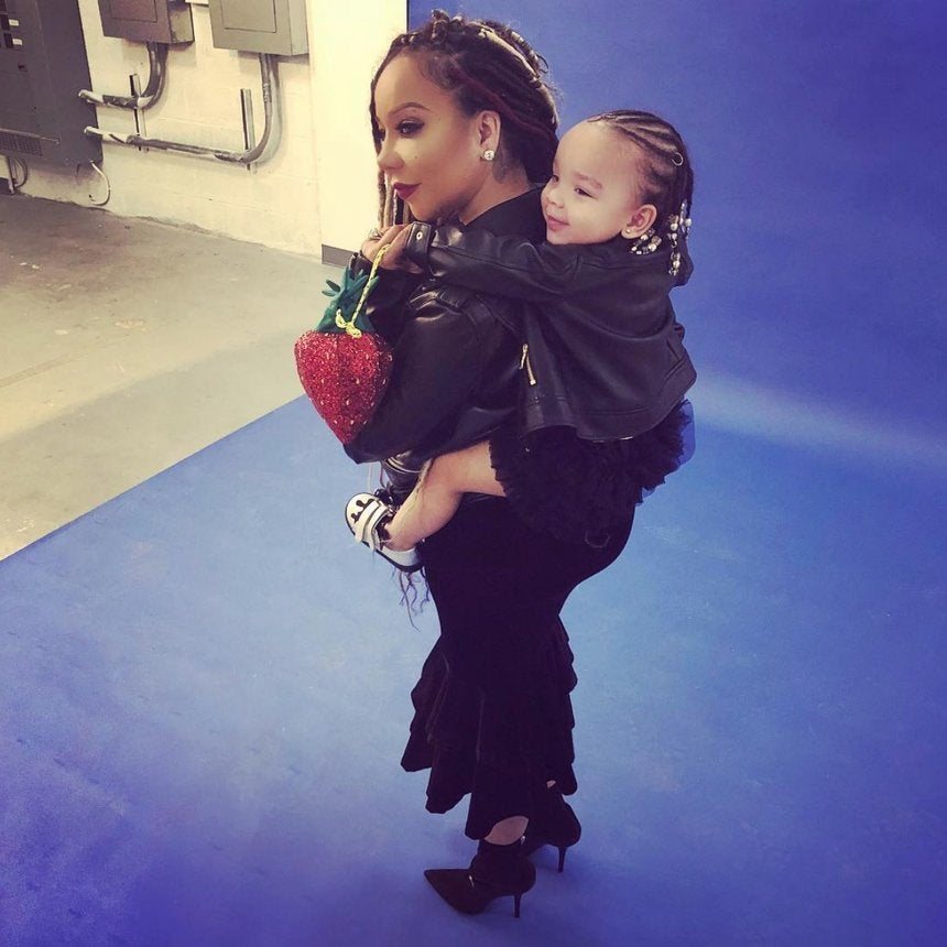 VIDEO: This Adorable Moment Between Tiny And Her 2-Year-Old Daughter Heiress Will Melt Your Heart