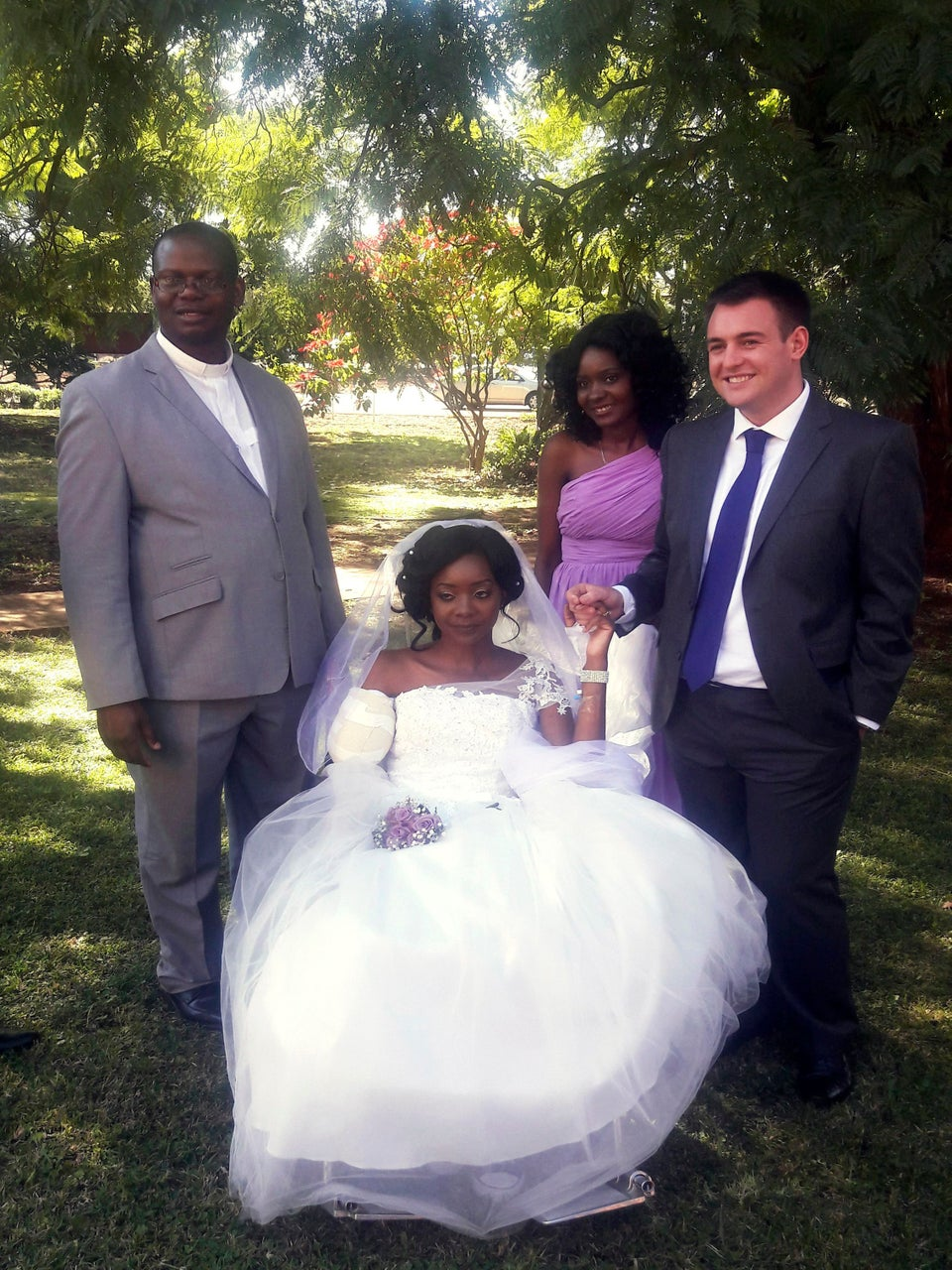 Whoa, This Bride Had Her Arm Mauled Off By A Crocodile Days Before Her Wedding…And She Still Got Married