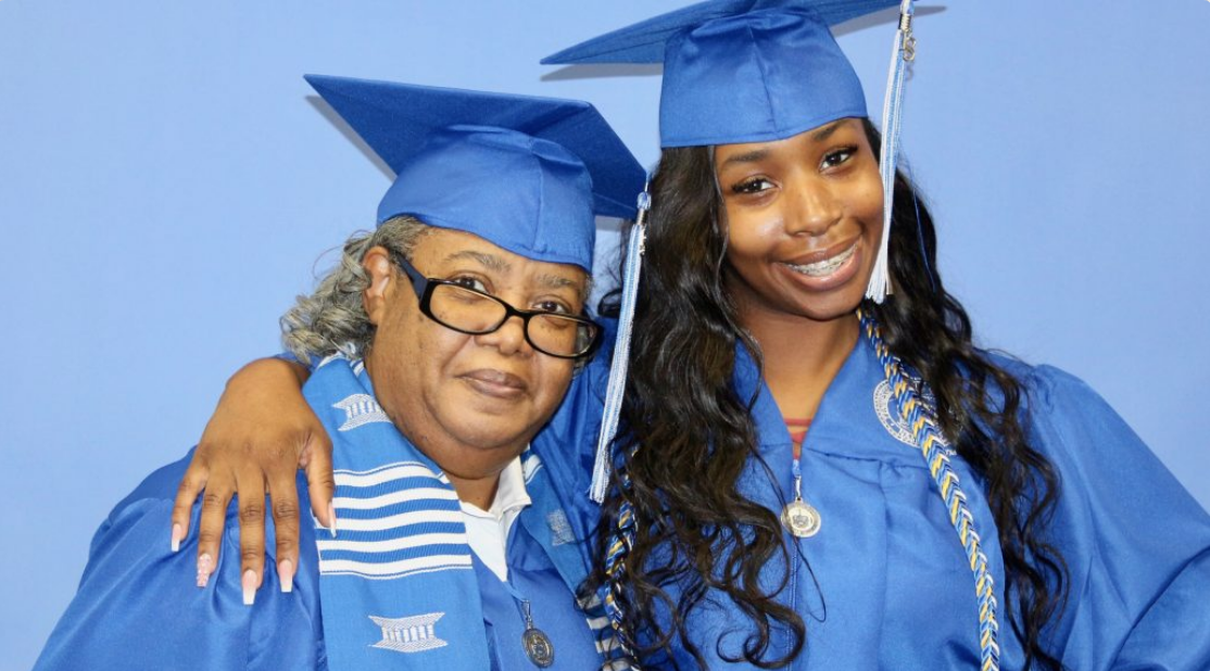 this grandmother granddaughter duo just graduated college together