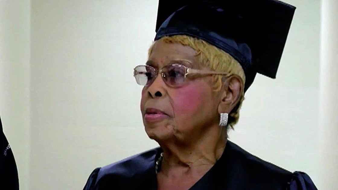 This 92-Year-Old Salon Owner Just Earned Her 4th College Degree