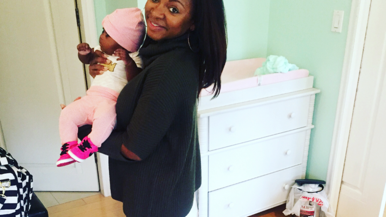 Naturi Naughton Shares First Photos of Her Daughter Zuri