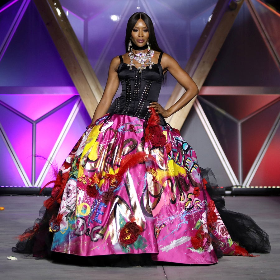 'Walk Across The Room Like Naomi Campbell!' 11 Times Naomi Strutted Into History