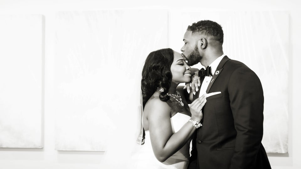 Bridal Bliss: Jada And O'Dane Went From Prom Dates To Soul Mates and Their Glam Florida Wedding Won Us Over