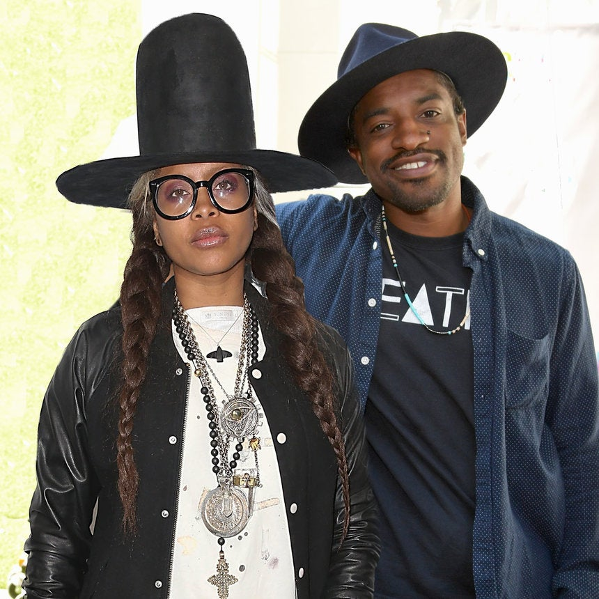 Erykah Badu And Andre 3000 Shared The Sweetest Selfie With Their Son Seven For Father's Day