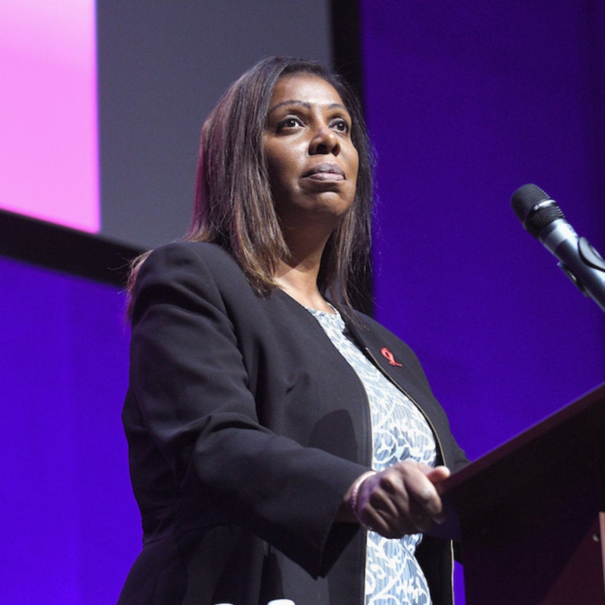 Letitia James Sworn In And Makes History As New York's First Black Attorney General