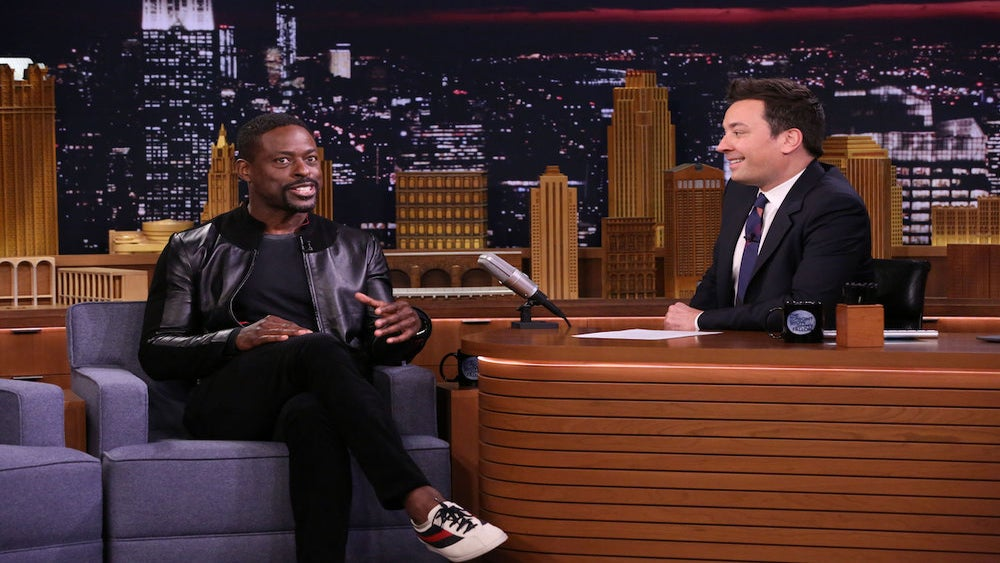 Sneak Peek: Sterling K. Brown Shows Off His Moves In A Dance Battle With Jimmy Fallon