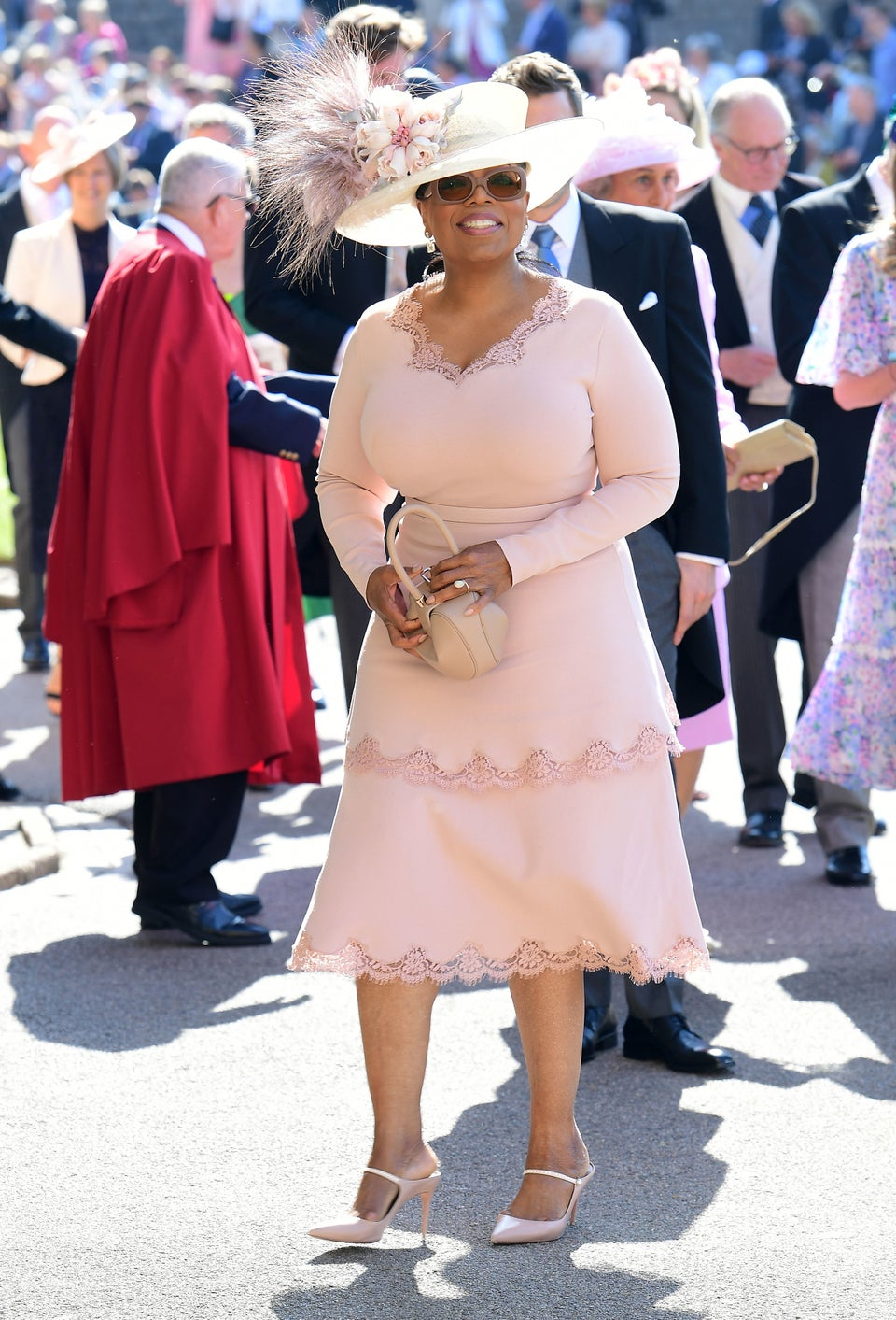 Oprah Winfrey Had To Switch Her Dress Last Minute To Prevent Royal Wedding Faux Pas