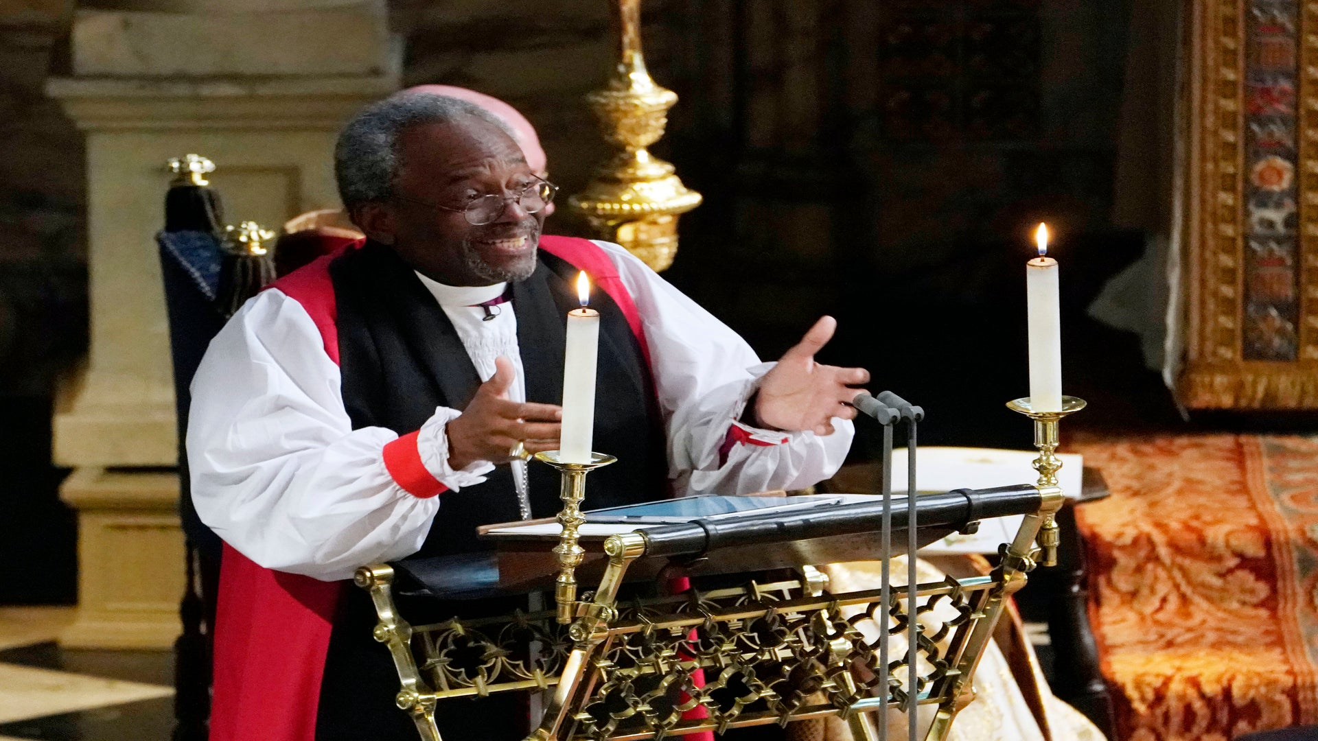 Bishop Michael Curry Says He Prays For President Trump