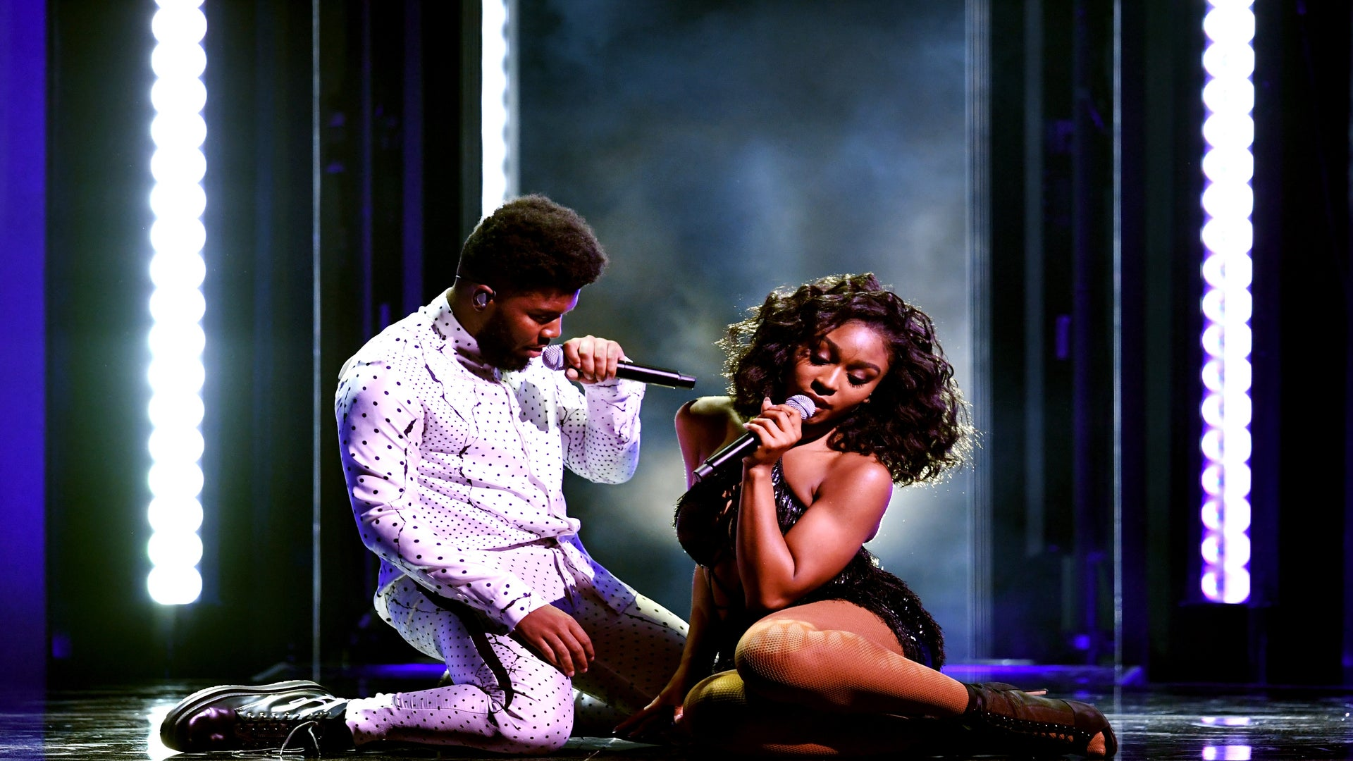 WATCH: Khalid And Normani Light Up The Billboard Awards Stage With A Performance Of Their Hit Single, 'Love Lies'