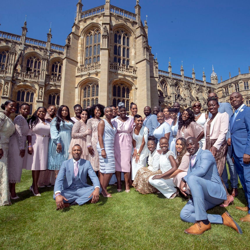 Take A Moment To Revel In The Hair And Style Of The Kingdom Choir At The Royal Wedding