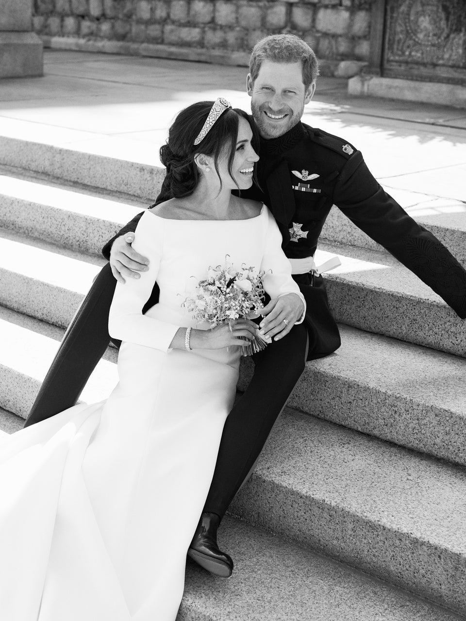 The Story Behind One Of Prince Harry And Meghan Markle's Best Wedding Portraits Is As Sweet As The Photo