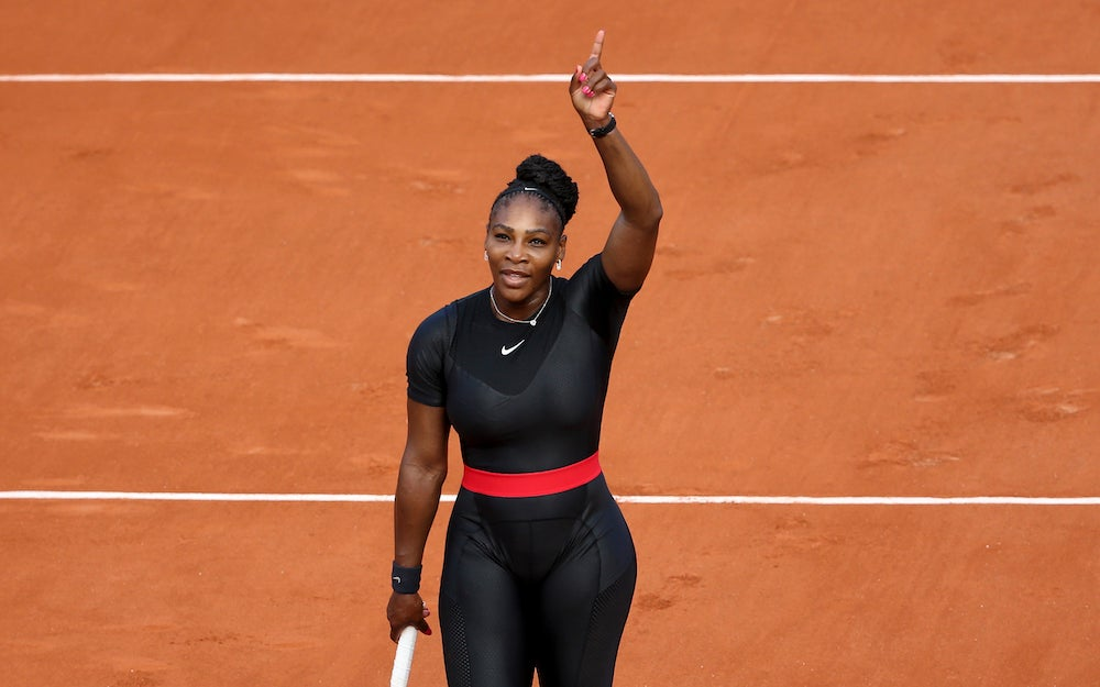 Here's Proof That Serena Williams Truly Knows How to Make A Protective Style Last