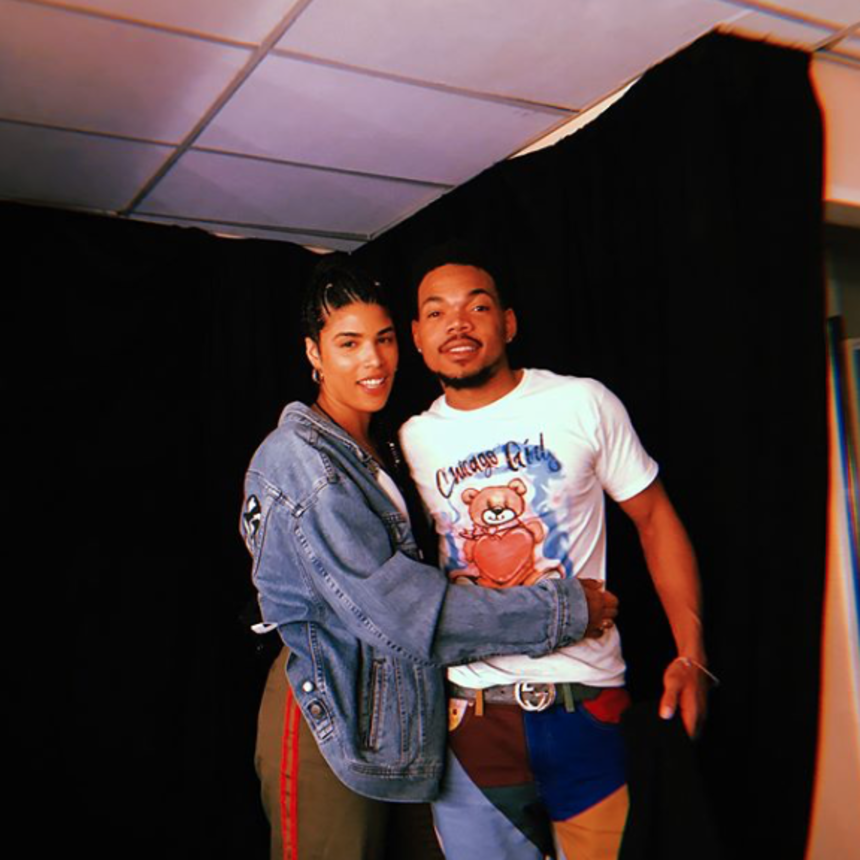 You Can't Miss Chance The Rapper and His Fiancée Kirsten Corley's Engagement Glow
