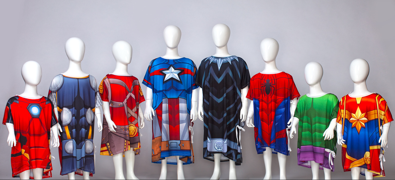 Marvel Studios Children\'s Hospital Gowns Donation|Paging Dr. T ...
