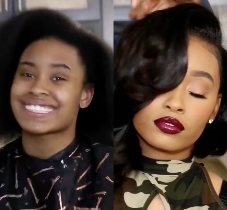 PRESS PLAY: 17 Hair And Beauty Transformations By Anthony Cuts That Will Leave You Speechless