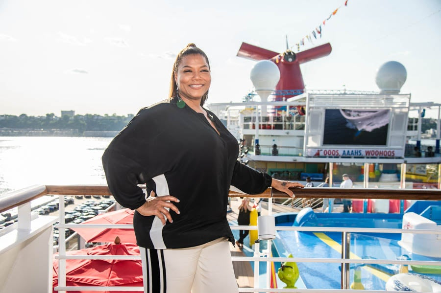 ICYMI: Queen Latifah Named 'Godmother' Of Carnival Cruise Ship's Newest Addition, Carnival Horizon