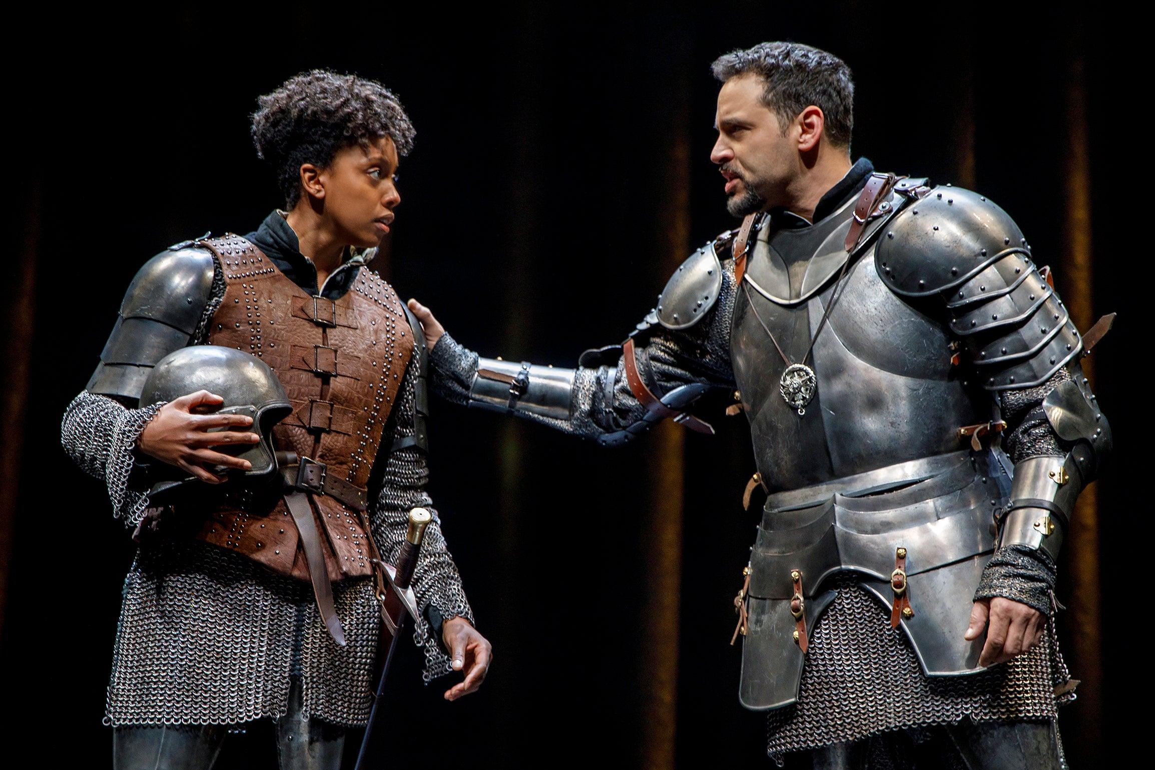 'Saint Joan' Review With Condola Rashad
