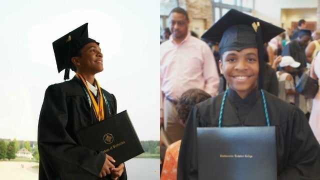 We Can't Stop Clapping! 14-Year-Old Graduates From High School And College On The Same Day