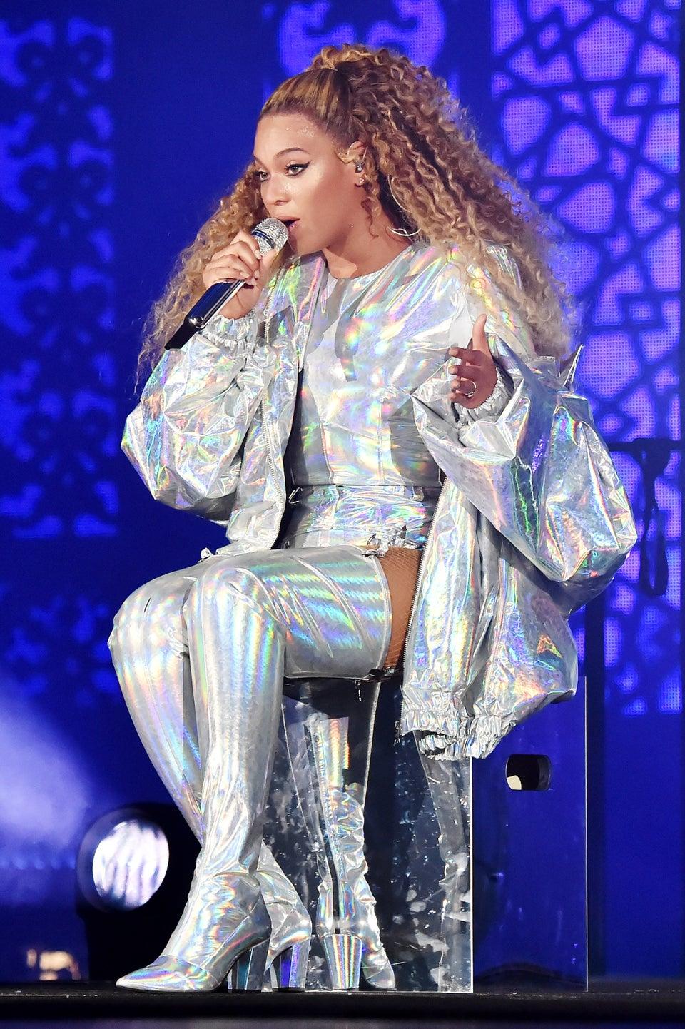Balmain x Beyoncé Merch To Benefit The United Negro College Fund
