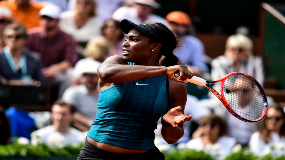 Tennis Champ Sloane Stephens Remains A Class Act Following French Open Defeat By Romania's Simona Halep