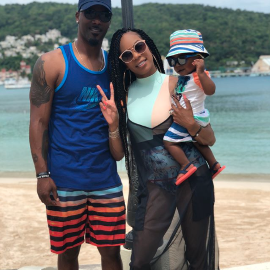 Sanya Richards-Ross Throws Son 'Deucey' An Epic First Birthday Party