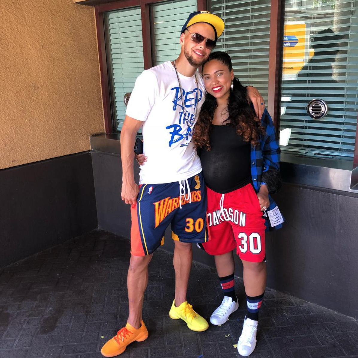Steph Curry Thanks Wife Ayesha Curry For Her Love And Support During Warriors Championship Parade Celebration