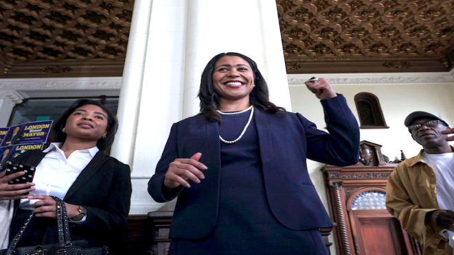 The Quick Read: London Breed Officially Sworn In As San Francisco's First Black Female Mayor