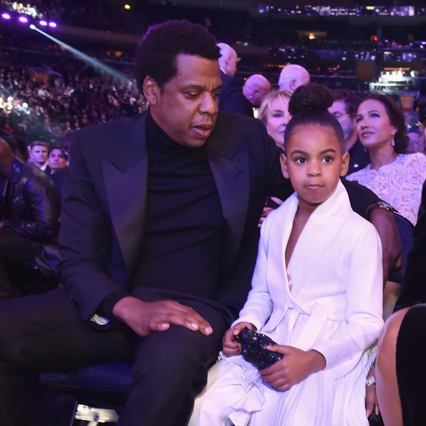Princess Carter: This Video Of Blue Ivy Throwing Up The Roc Sign During Jay Z's Performance Is The Cutest Ever