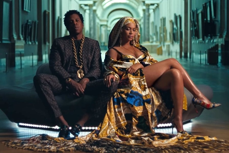 """29a5de56e8662 Beyoncé And Jay-Z Absolutely Slay To The Gods In """"Apesh t"""" Video - Essence"""