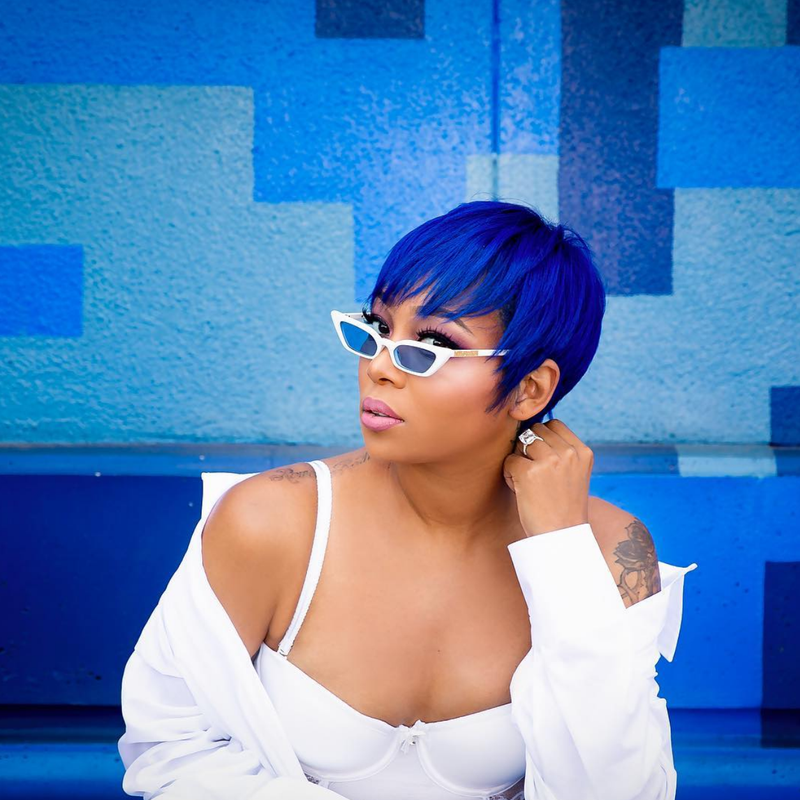 Monica Is Our Favorite Hair Color Goddess And Here's Why - Essence