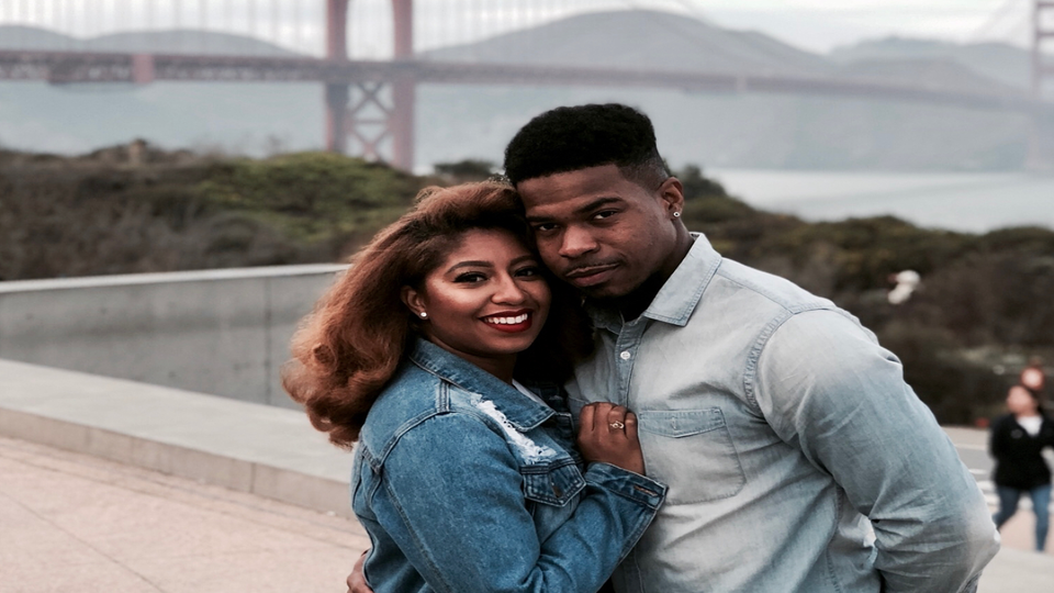 Couple Crush Of The Week: How Curls and Couture Blogger Courtney Danielle And Her Fiancé Are Building A Lasting Love