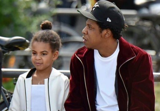 Jay-Z And Blue Ivy Spend A Father-Daughter Day Out In Berlin