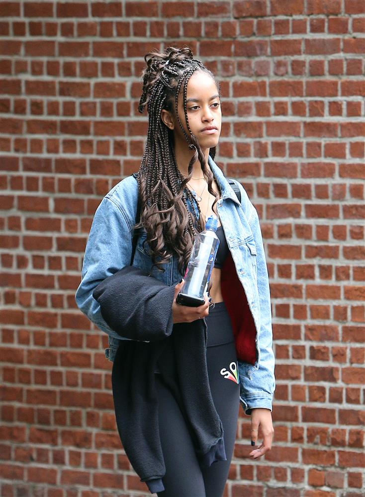 Malia Obama Wears Box Braids Just In Time For Summer Essence