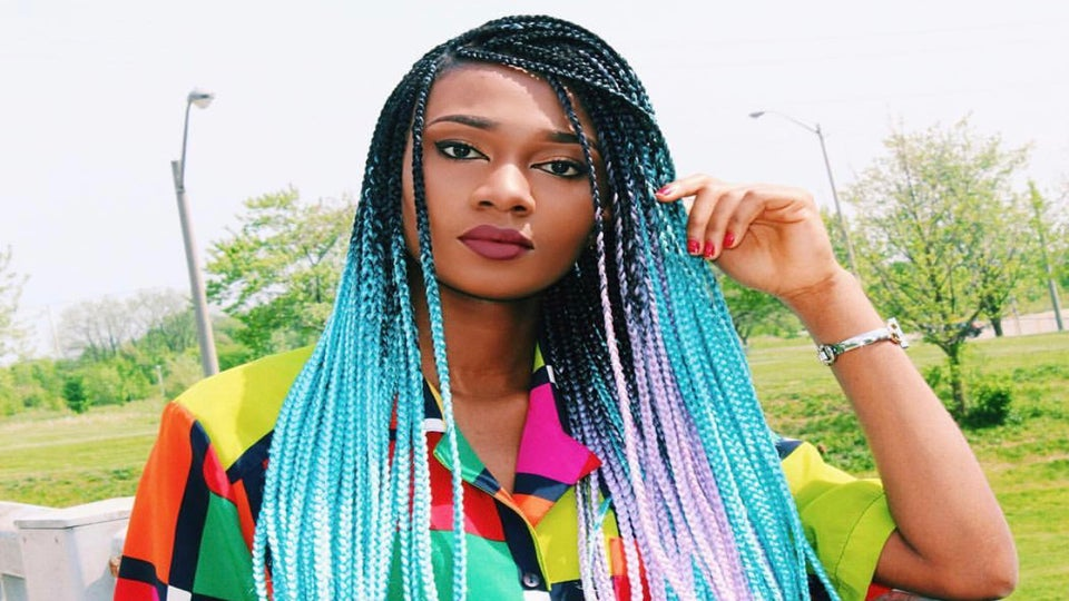 Ombre Braids Like You've Never Seen Them Before
