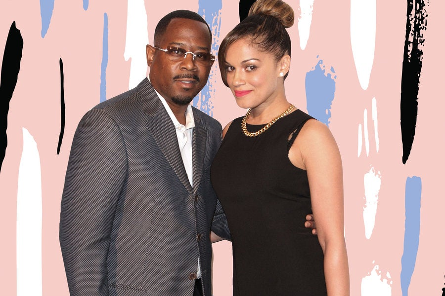 Martin Lawrence Showers His Fiancée Roberta With Compliments ...