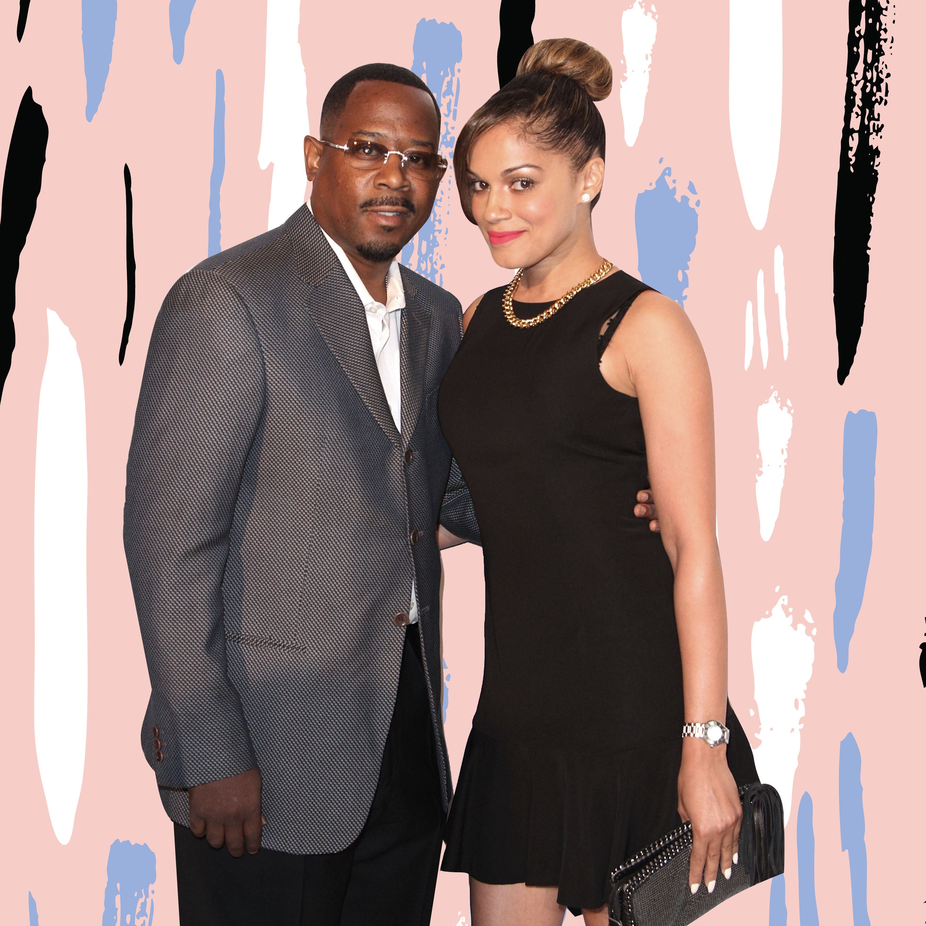 Martin Lawrence Showers His Fiancée Roberta With Compliments For Her Birthday (and Shouts Out Her Pancake Skills!)