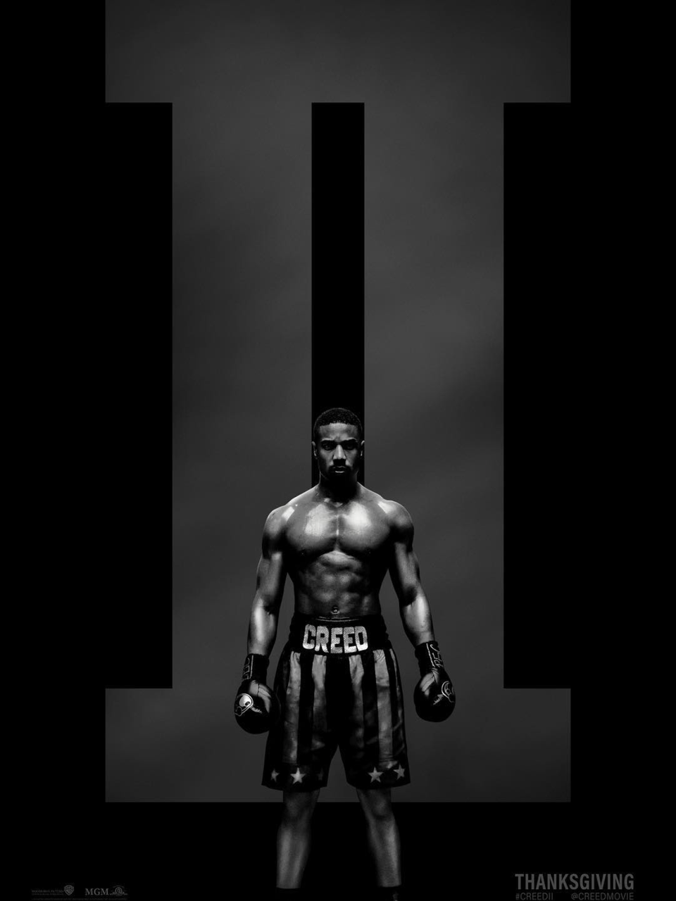 Michael B. Jordan and His Chiseled Chest Are Back With a New 'Creed II' Poster and Trailer