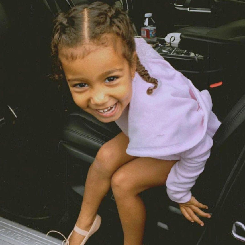 North West Makes Modeling Debut, Appears In Her First Fashion Campaign