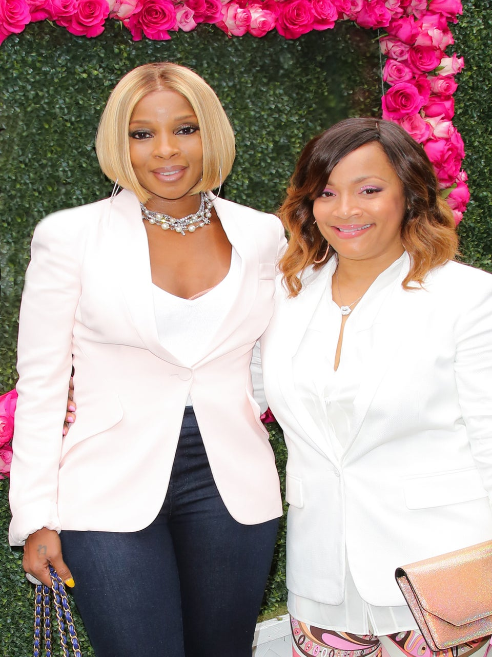 Mary J. Blige and Simone Smith Launch Jewelry Line Sister love