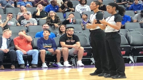 These Two Black Women Are The First Women To Ever Officiate An NBA Game Together