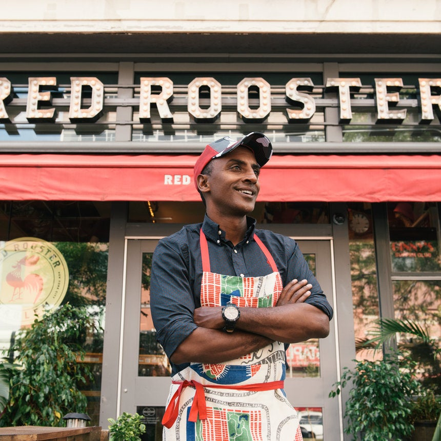 "Marcus Samuelsson Explores The Richness of Immigrant Food Culture in New Show ""No Passport Required"""