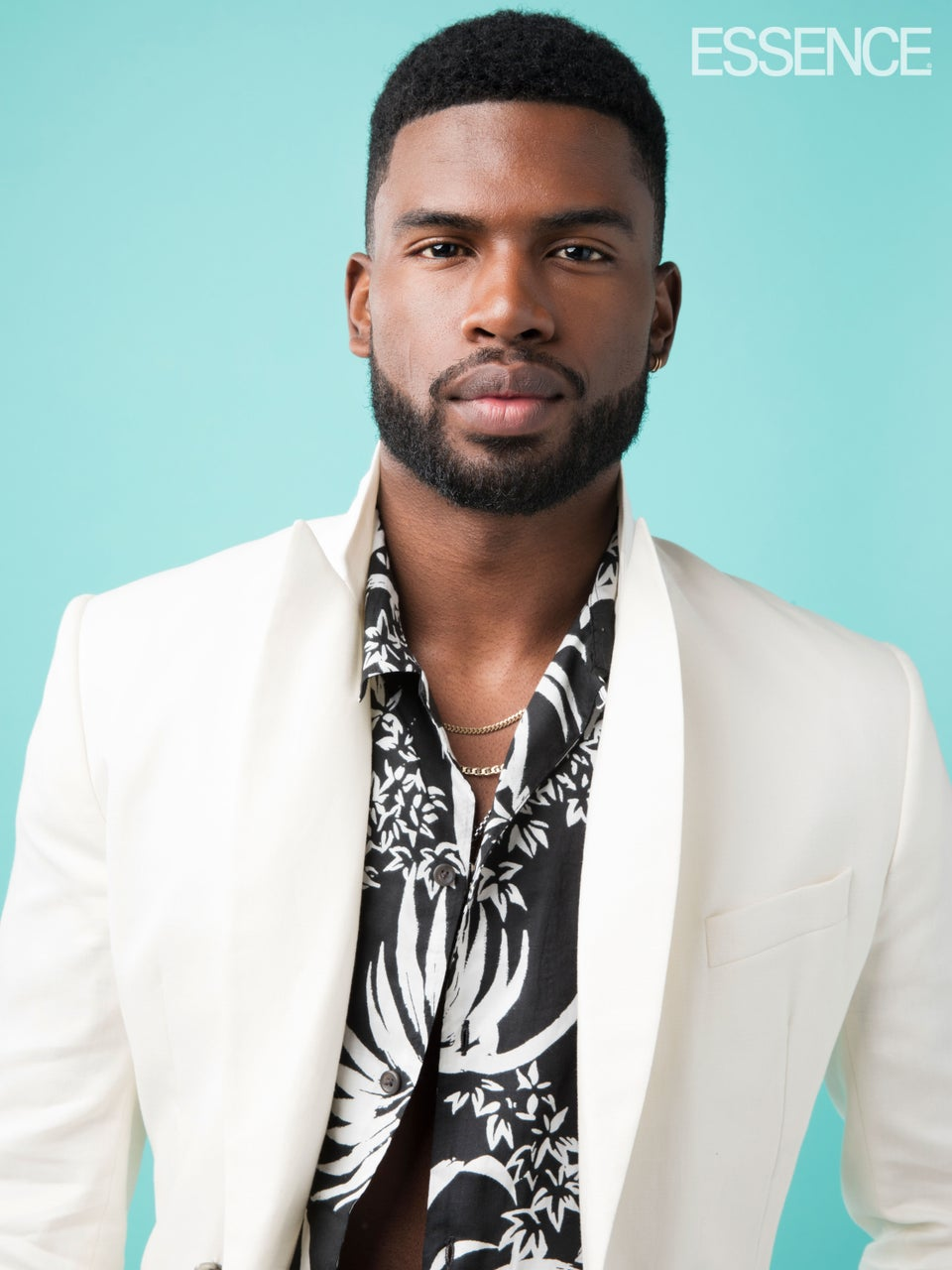 'Insecure' Actor Broderick Hunter Keeps His Cool In Hawaiian Prints