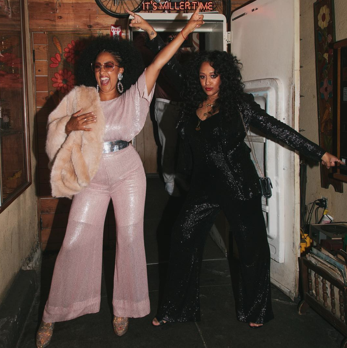 Tia Mowry-Hardrict And Tamera Mowry-Housley's 40th Birthday Bash Looked Lit