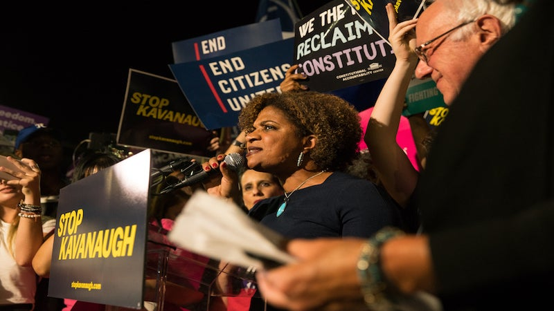 Black Women Come Out In Droves To Protest Supreme Court Nominee Brett Kavanaugh