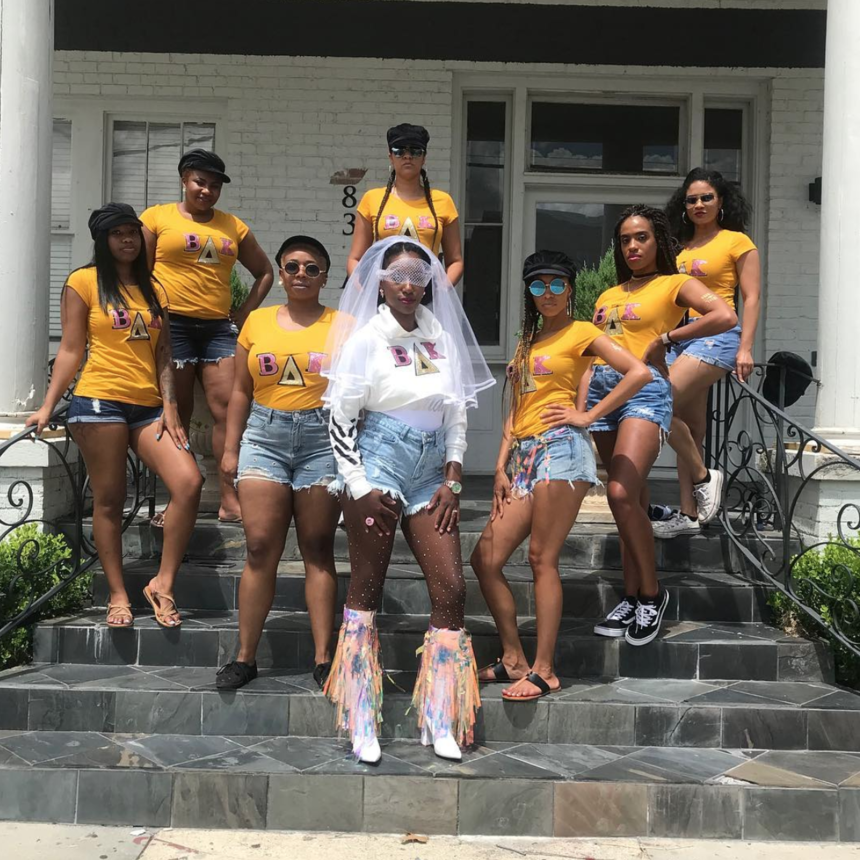 Black Wedding Moment Of The Day: Bride-To-Be and Her Squad Brought Major Beychella Vibes To ESSENCE Fest