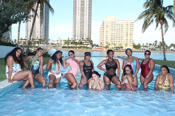 Tiny and Her Girlfriends Lived Their Best Lives In Miami For Her Birthday Vacation