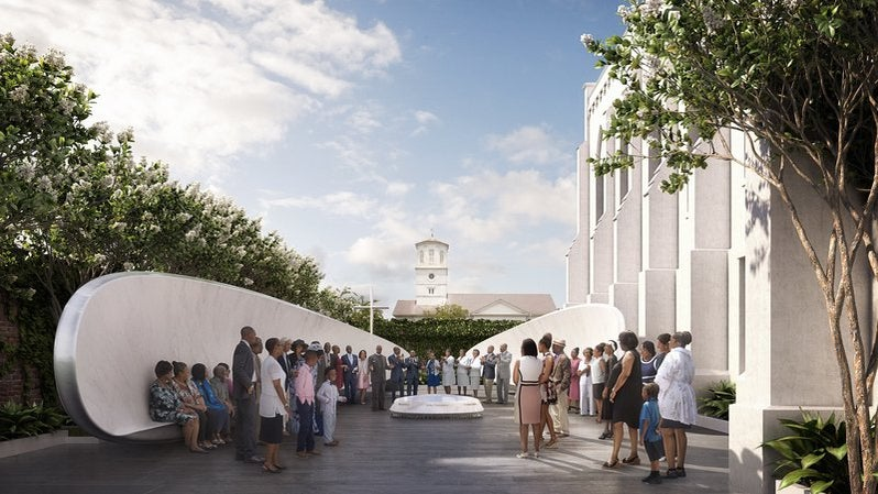 Design For Emanuel AME Church Memorial Revealed