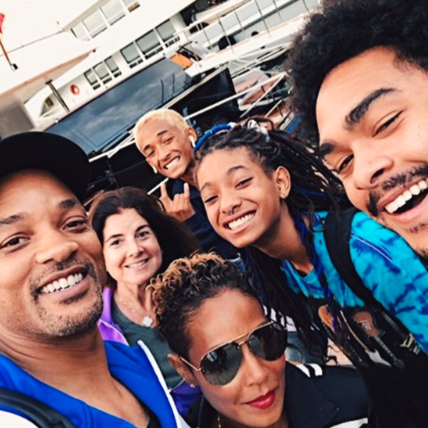 Will Smith Just Wrapped A Movie In Budapest and Now He's On An Epic Family Vacation With Jada and The Kids