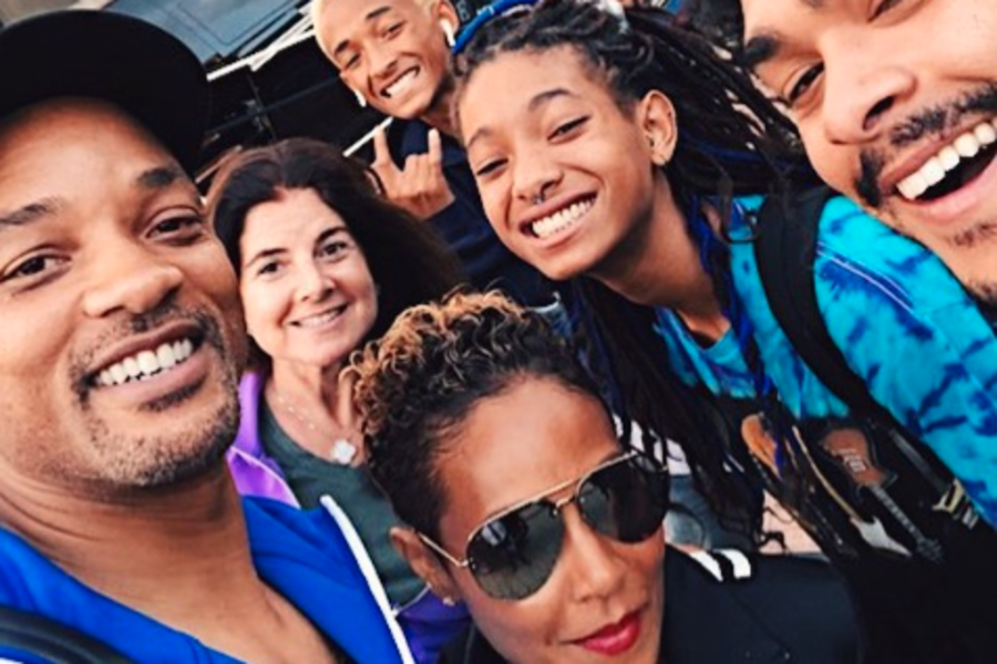 Will Smith, Wife Jada Pinkett Smith And Their Kids Are Kicking Off ...