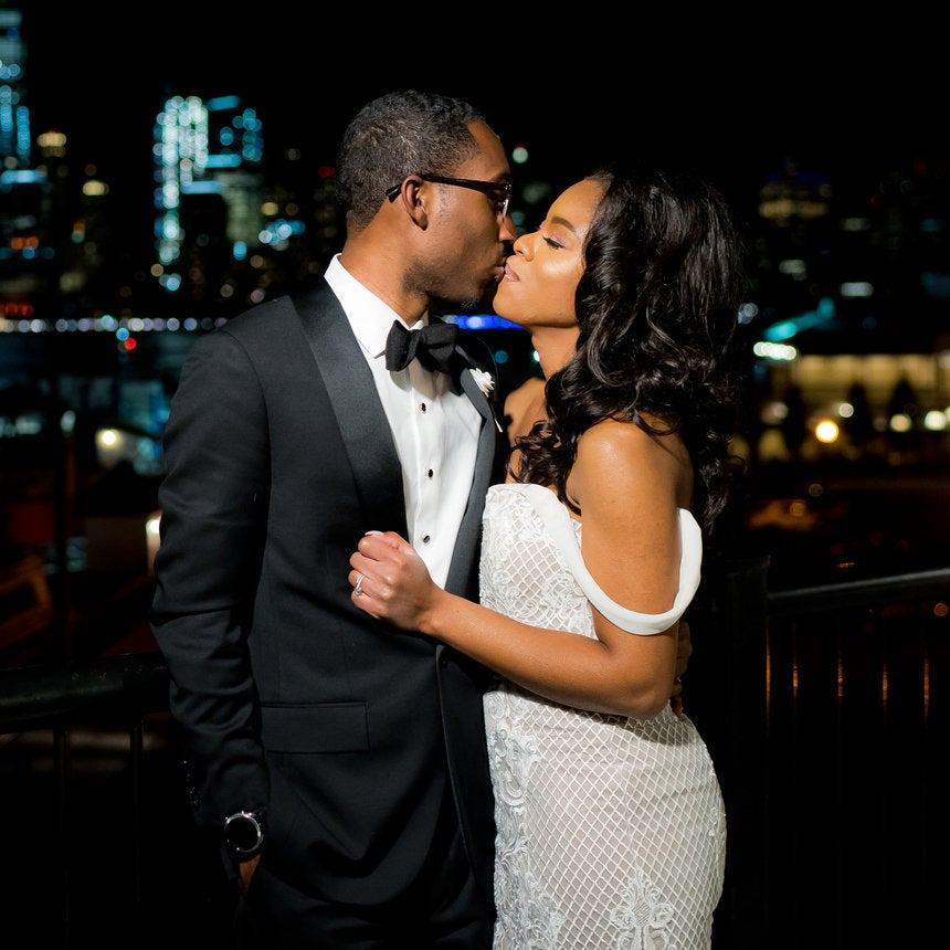 Bridal Bliss: Howard University Sweethearts Akil And Crystal's Modern Wedding Was A Moment In Time